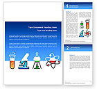 Education & Training: Natural Sciences Word Template #02780