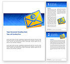 Telecommunication: Email Word Vorlage #02793