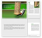 Nature & Environment: Birdfeeder Word Template #02796