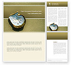 Nature & Environment: Templat Word Mutiara Dan Cangkang #02817
