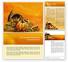 Holiday/Special Occasion: Modèle Word de jour de thanksgiving #02819
