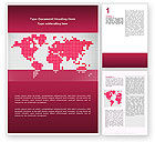 Global: Crimson World Word Template #02828