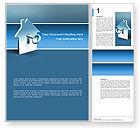 Business Concepts: Schlüsselloch Word Vorlage #02830