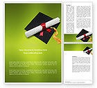 Education & Training: Certificate of Degree Word Template #02855