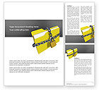 Technology, Science & Computers: Secured Folder Word Template #02859