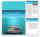Financial/Accounting: Computation Word Template #02861