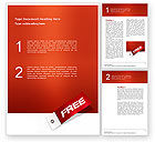 Business Concepts: Free Label Word Template #02865