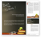 Education & Training: Back To School Word Template #02867