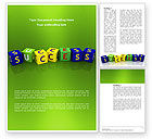 3D: Success Word Template #02869