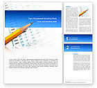 Education & Training: Educational And Psychological Test Word Template #02870