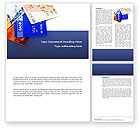Financial/Accounting: Credit Cards Word Template #02877