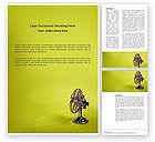 Utilities/Industrial: Ventilator On Light Olive Background Word Template #02892