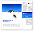 Education & Training: Internet Libraries Word Template #02894