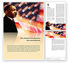 Holiday/Special Occasion: Martin Luther King Word Template #02907