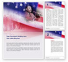 Holiday/Special Occasion: Martin Luther Speech Word Template #02909