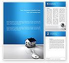 Business: Immobilien Word Vorlage #02932