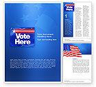 Careers/Industry: Primaries Word Template #02941