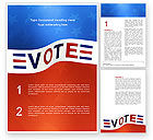 Consulting: Vote Word Template #02942