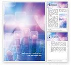 Technology, Science & Computers: Templat Word Interaktif #02946