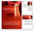 Medical: Red Blood Cells Word Template #02953