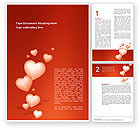 Holiday/Special Occasion: Love Gift Word Template #02968
