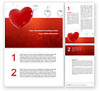 Holiday/Special Occasion: Love You Word Template #02970