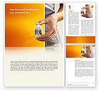 Careers/Industry: Diamond Word Template #02971