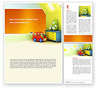 Education & Training: Day Nurseries Word Template #02974