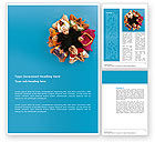 People: Multiplicity Word Template #02977