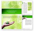 Nature & Environment: Sprießen Word Vorlage #02983