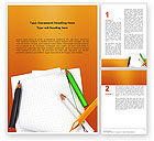 Education & Training: Plantilla de Word - cuaderno #02990