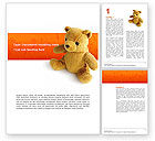Holiday/Special Occasion: Toy Word Template #03013