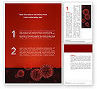 Medical: Red Corpuscles Word Template #03014