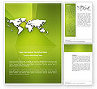 Global: Whole World Word Template #03015