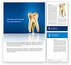 Medical: Tooth Word Template #03023