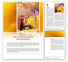 America: Patriotismus Word Vorlage #03032