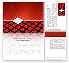 Business Concepts: Pixel Word Template #03040