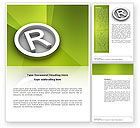 Legal: Registered Trademark Word Template #03046