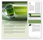 Food & Beverage: St. Patrick Word Template #03054