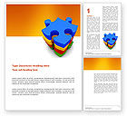 Business Concepts: Puzzle Complete Word Template #03061