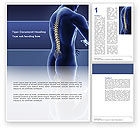 Medical: Spine Word Template #03062