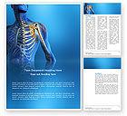 Medical: Bones Word Template #03063