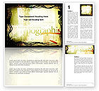 Art & Entertainment: Typography Word Template #03077
