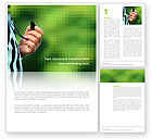 Sports: Referee Word Template #03098