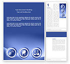 Medical: Dentist Clinic Word Template #03111