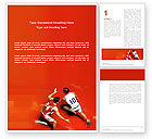 Sports: Free Sport Game Word Template #03120