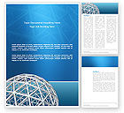 Construction: Framework Sphere Word Template #03123
