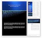 Technology, Science & Computers: Templat Word Komputer #03128