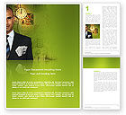 Business: Richness Word Template #03171