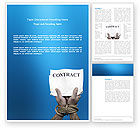Business: Modello Word - Contrarre #03181